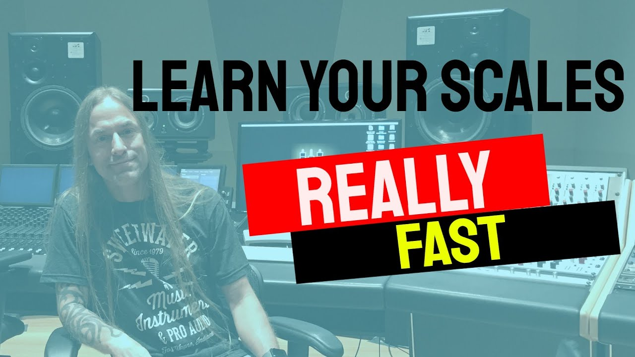Learn Your Scales and Fretboard with THIS Practice Tip | Steve Stine Guitar Lesson