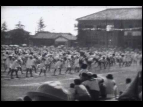 昭和34年・横内小学校秋季大運動会