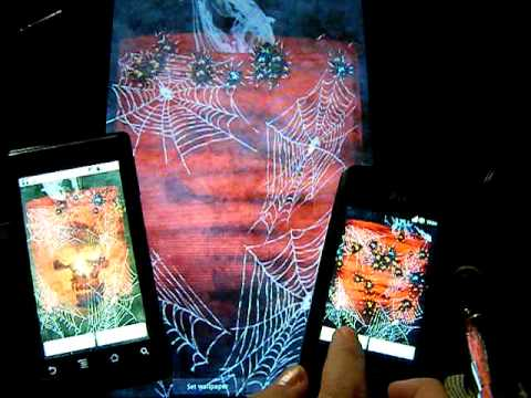 Video of Bloody Spiders Live Wallpaper