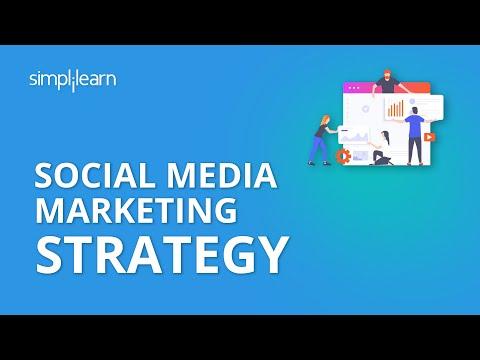 Social Media Strategy | Social Media Marketing Tutorial | Simplilearn