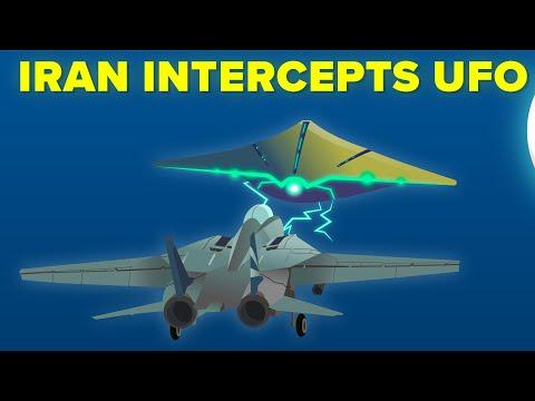 Iran Military Intercepts Alien UFO