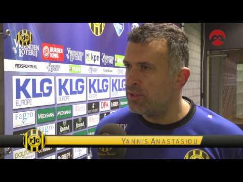 Anastasiou blikt vooruit op duel met Heerenveen