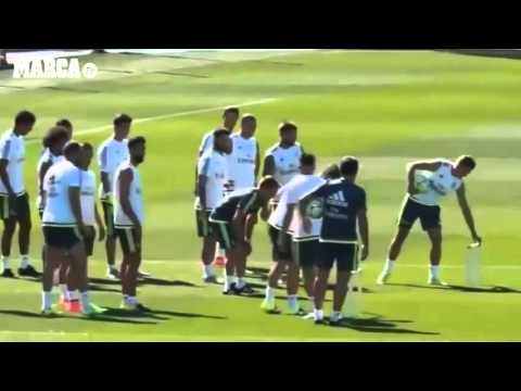 Video Speed Training test  for Real Madrid players, ft  Ronaldo, Bale, James download in MP3, 3GP, MP4, WEBM, AVI, FLV January 2017