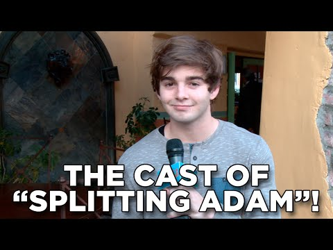 "The Cast of ""Splitting Adam"""