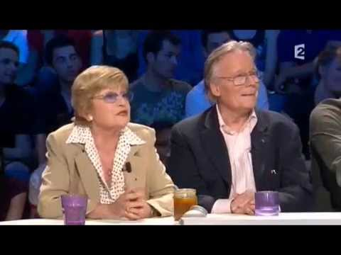 Françoise Dorin et Jean Piat - On n'est pas couché 10 mai 2008 #ONPC