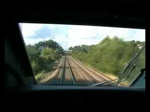 TGV cab ride