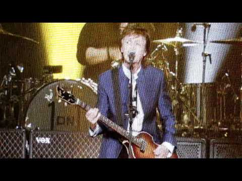 McCartney's first time in 50 years playing