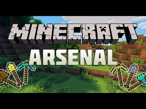 Minecraft Mini-Game : Arsenal - КИРКОЙ ПО БАШКЕ