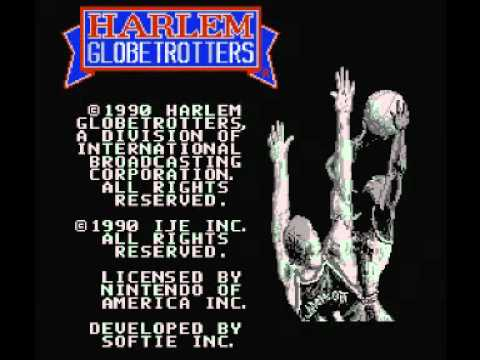 harlem globetrotters nes review