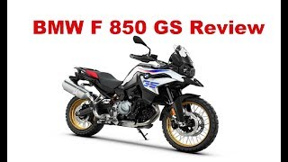 9. The Best Middleweight Adventure Motorcycles - 2018 BMW F 850 GS - Test Ride & Review
