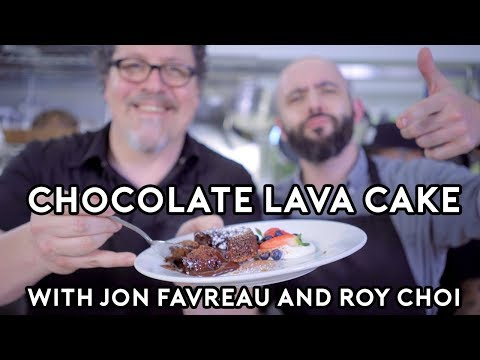 Chocolate Lava Cakes from Chef with Jon Favreau and Roy Choi - Binging with Babish