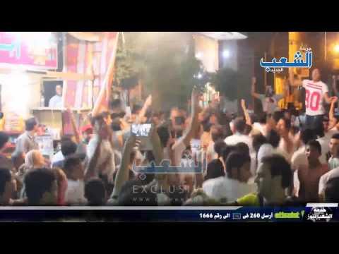مسيرة حاشدة لأولتراس مصر سياسى ونهضاوى بناهيا