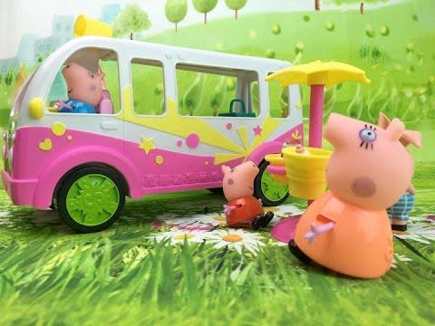 Игры Шопкинс машина мороженое для свинки Пе мультик  Shopkins