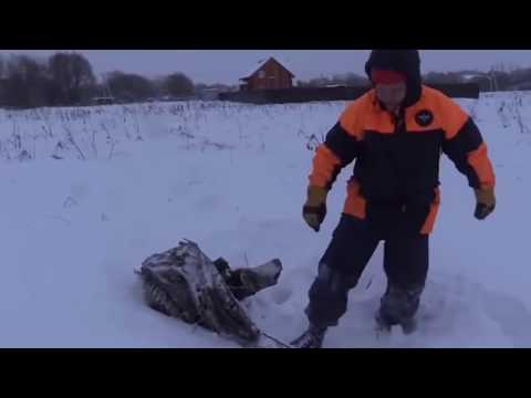 Момент крушения пассажирского самолёта Ан 148 в Подмосковье.Разбор обломков. 11.02.2018 (видео)
