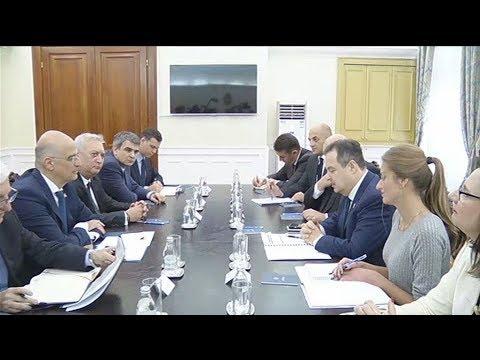Ν. Δένδιας: Η Ελλάδα στηρίζει την ευρωπαϊκή προοπτική των Δυτικών Βαλκανίων