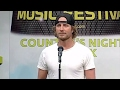 Dierks Bentley was a CMA Music Fest volunteer?   Country's Night to Rock 2011   CMA