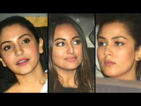Mira Rajput, Anushka Sharma And Sonakshi Sinha At