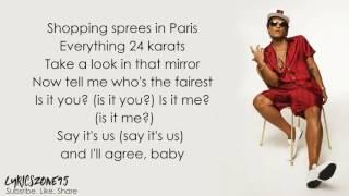 Bruno mars that's what I like (lyrics) Video