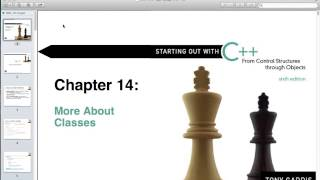 Object-Oriented Programming In C++ - Lecture 21
