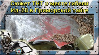 Место катастрофы Ил-28. Приморский край