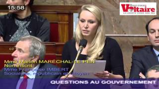 Video Marion Maréchal-Le Pen présente l'addition à Taubira MP3, 3GP, MP4, WEBM, AVI, FLV Juni 2017