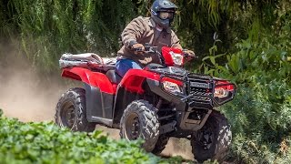 4. 2015 Honda Foreman Rubicon Introduction