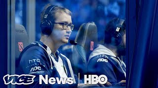 VICE News hung out with Dota 2 veteran @SunsfanTV at The International to learn about the toughest eSport. Subscribe to VICE ...