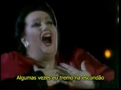 Freddie Mercury and Montserrat Caballe - How can I go on