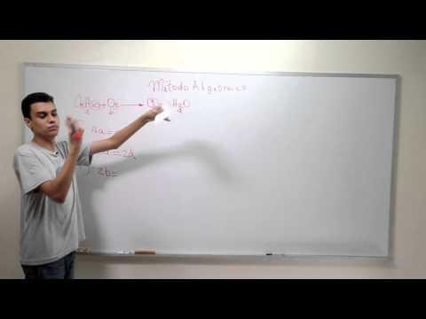 Método Algebraico de Balanceo de Ecuaciones (Parte 1 de 4)