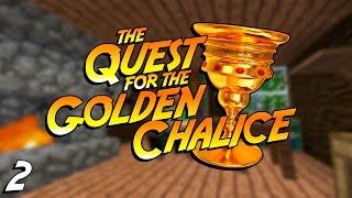 Minecraft CRUNDEE CRAFT | GERALDS LOG CABIN! | #2 (Minecraft Adventure Golden Chalice)