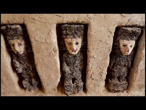 Peru: Älter als 800 Jahre - jahrhundertealte Holz-Skulp ...