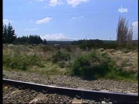 Mit dem Zug durch Neuseeland - Eine Reise zu den Naturwundern Neuseelands (Doku), Teil 1 u. 2