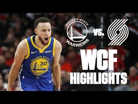Best Plays From Warriors' Sweep Of Blazers In Conference Finals | 2019 NBA Playoff Highlights