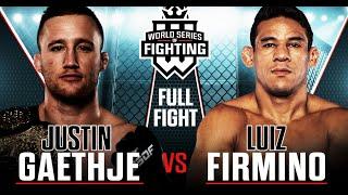 Video #WSOFNYC: Justin Gaethje vs. Luiz Firmino Full Fight MP3, 3GP, MP4, WEBM, AVI, FLV Juni 2019