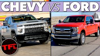 Ford vs Chevy MPG Verdict! Here's How the F-250 7.3L V8 Compares to the Silverado V8 Towing & Not! by The Fast Lane Truck