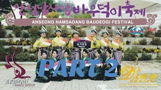 Anseong-si South Korea  city pictures gallery : Anseong Namsadang Baudeogi Festival 2015 | Dian Dancers & Azpirasi (Part 2)