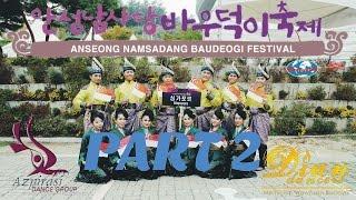 Anseong-si South Korea  City new picture : Anseong Namsadang Baudeogi Festival 2015 | Dian Dancers & Azpirasi (Part 2)