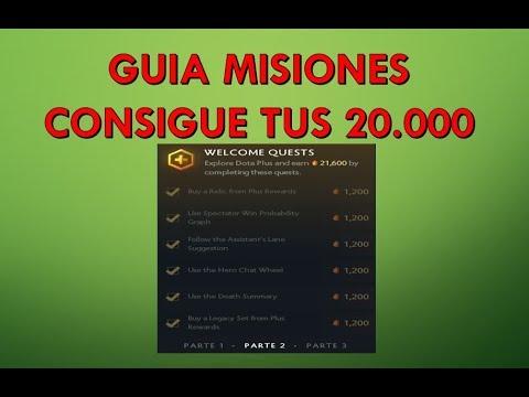 Guía Misiones Parte 1 2 y 3 |Dota 2 Plus|