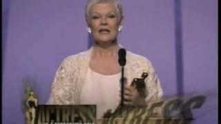 Video Judi Dench winning Best Supporting Actress MP3, 3GP, MP4, WEBM, AVI, FLV September 2018