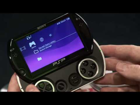 psp - Watch as GameSpot UK's Guy Cocker and Luke Anderson exclusively unbox Sony's latest and greatest PSP Go. Features & Reviews - http://www.youtube.com/user/gam...