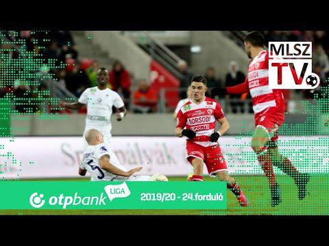 24. forduló: DVTK - Újpest 2-1 (1-0)