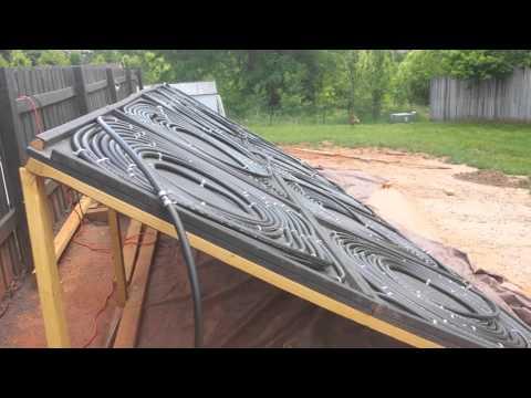 DIY best info on Solar panels for inground swimming pool