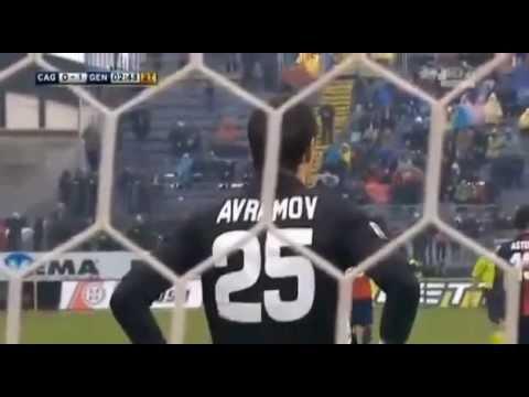 Cagliari vs Genoa 2-1 Ampia Sintesi 13_01_2013 All Goals Highlights
