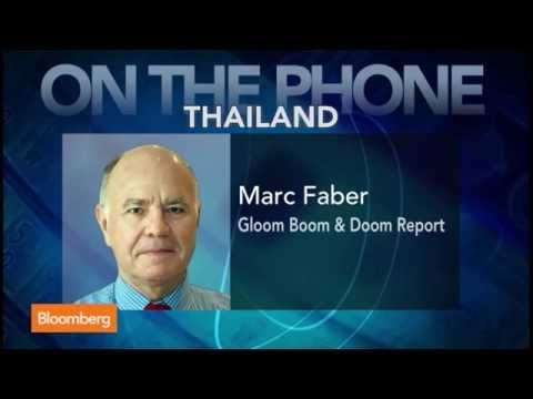 Stocks - July 21 (Bloomberg) -- Marc Faber, publisher of the Gloom, Boom & Doom report, talks about his view that stocks are in a