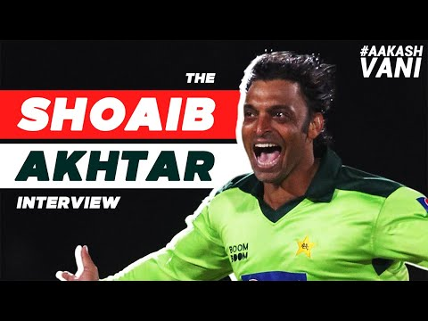 """""""PURPOSELY bowled a BEAMER at MS DHONI""""   The SHOAIB AKHTAR Interview   #AakashVani"""