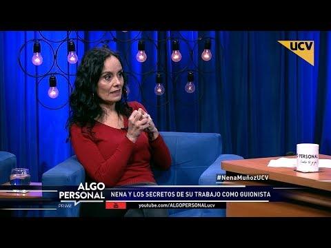 video María Elena Muñoz habla de su trabajo escribiendo guiones de teleseries