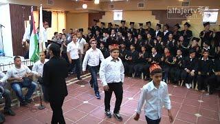 حفل تخريج الفوج العاشر من طلبة الفرع الصناعي في محافظة قلقيلية