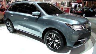 2014 Acura MDX Prototype - Exterior Walkaround - 2013 Toronto Auto Show - 2013 CIAS