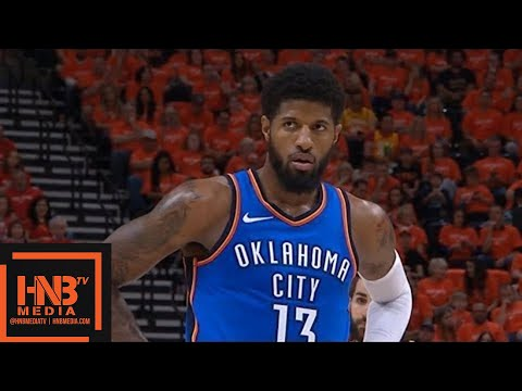 Oklahoma City Thunder vs Utah Jazz 1st Half Highlights / Game 3 / 2018 NBA Playoffs
