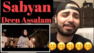 Video Reacting to Cover By Sabyan Singing  Deen Assalam MP3, 3GP, MP4, WEBM, AVI, FLV Desember 2018